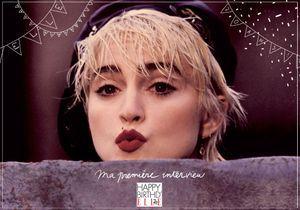 Ma première interview dans ELLE: Madonna en 1987