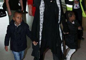 Madonna de retour au Malawi avec ses enfants