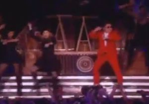Madonna : elle danse le « Gangnam Style » avec Psy !