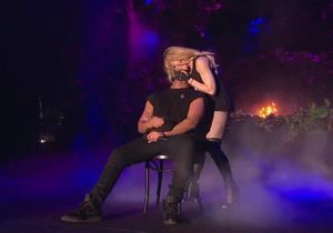 Madonna embrasse Drake sur la scène du festival Coachella