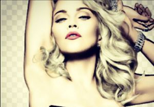 Madonna pose topless en réponse aux fesses de Kim Kardashian