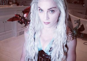 Madonna se déguise en Khaleesi, de Game of Thrones