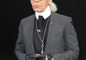 Mariage princier : les chaînes se disputent Karl Lagerfeld