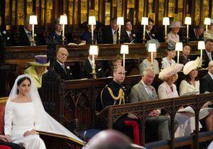 Mariage princier : pourquoi y avait-il un siège vide entre William et Meghan ?