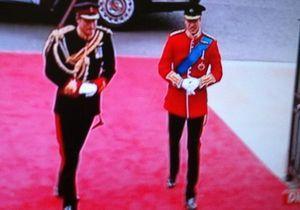 Mariage princier : William est arrivé avec Harry