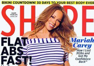 Mariah Carey, amincie et rayonnante