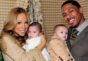 Mariah Carey dévoile les visages de ses bébés !