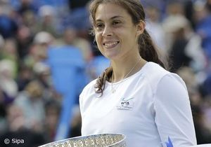 Marion Bartoli remporte le tournoi d'Eastbourne