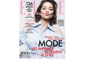 Marion Cotillard, cover girl de ELLE