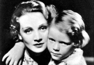 """Marlene Dietrich et sa fille : """"D'une certaine façon, j'avais été formée pour le viol.(...) un objet possédé, conditionné pour qu'on s'en ser..."""