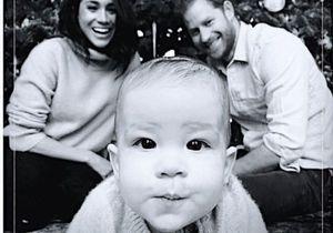 Meghan Markle et Harry : leur fils Archie craquant sur la photo de leur carte de voeux