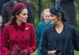Meghan Markle et Kate Middleton : plus complices que jamais pour la messe de Noël