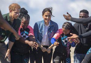 Meghan Markle et le prince Harry : tout sourire en Afrique du Sud
