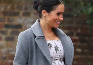 Meghan Markle : très enceinte et souriante malgré la tourmente