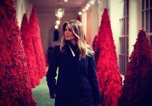 Melania Trump est une nouvelle fois la risée du web à cause de la décoration de Noël de la Maison Blanche