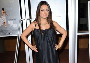 Mila Kunis célèbre la naissance de sa fille avec une bague