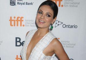 Mila Kunis, enceinte d'Ashton Kutcher