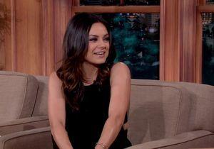 Mila Kunis parle de sa fille pour la première fois à la télévision