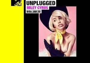 Miley Cyrus : l'affiche choc de son show MTV Unplugged