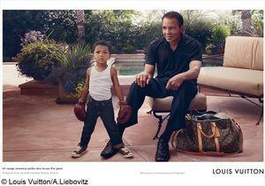 Mohamed Ali nouvelle égérie de Louis Vuitton