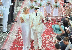 Monaco : le mariage de Charlene et du prince Albert en images