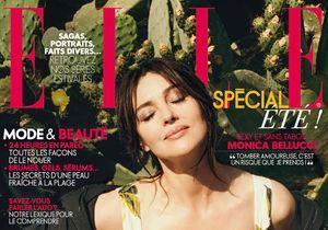 Monica Bellucci en couverture de ELLE cette semaine!