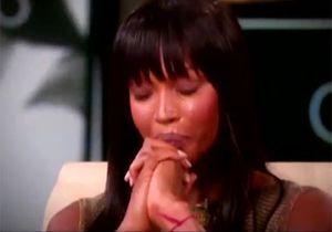 Naomi Campbell craque sur le plateau d'Oprah Winfrey