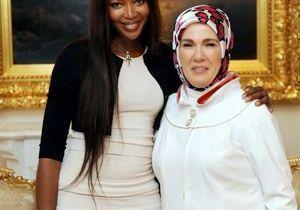 Naomi Campbell rencontre la femme du Premier ministre turque