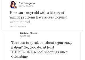 Newtown : les stars veulent une législation des armes plus stricte