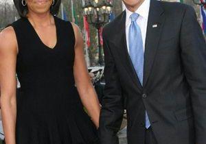 Obama : soirée en famille à Paris