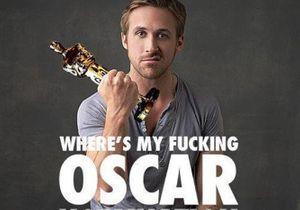Oscars 2012 : les fans de Ryan Gosling montent au créneau