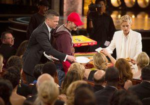 Oscars 2014 : Brad Pitt, son pourboire généreux avec le livreur de pizzas