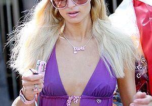 Paris Hilton court après Usain Bolt