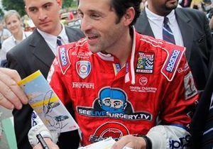 Patrick Dempsey évite le crash aux 24 h du Mans