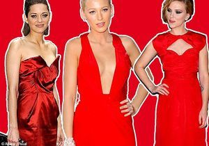 People : dress-code rouge !