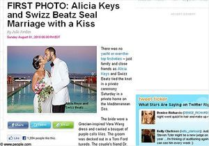 Photo : Alicia Keys s'est mariée !