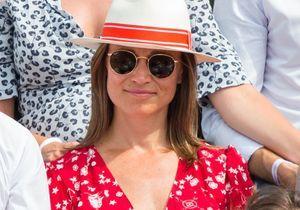 Pippa Middleton enceinte et radieuse dans les tribunes de Roland Garros