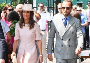Pippa Middleton et son frère, James Middleton, le duo le plus chic de Wimbledon