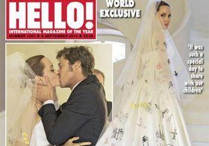 Pour combien de millions de dollars Brad et Angelina ont-ils vendu leurs photos de mariage ?