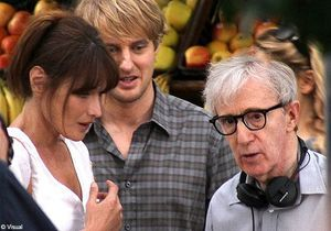 Pour Woody Allen, Carla Bruni est « parfaite »