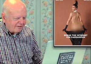 Prêt-à-liker: des personnes âgées découvrent les fesses de Kim Kardashian!