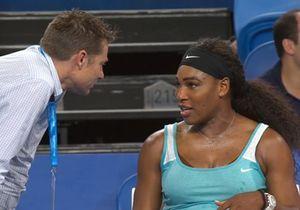 Prêt-à-liker : perdante, Serena Williams demande un café en plein match de tennis