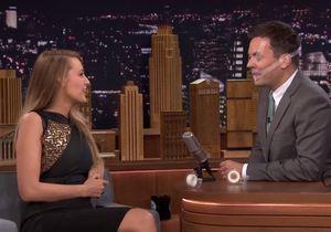 #PrêtàLiker : Blake Lively s'amuse à scotcher le visage de Jimmy Fallon