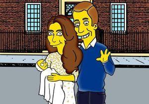 #Prêtàliker : le royal baby version Simpson