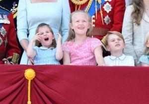 Prince George et princesse Charlotte : quand les enfants royaux chahutent lors l'anniversaire de la reine