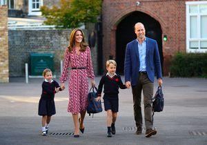 Princesse Charlotte et prince George : les photos craquantes de leur rentrée