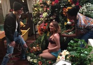 Quand deux actrices de Grey's Anatomy parodient la photo de Beyoncé enceinte