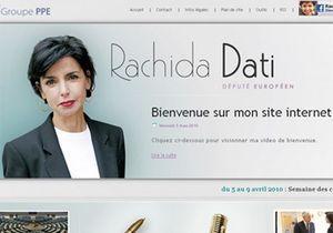 Rachida Dati nous explique l'Europe sur son nouveau site