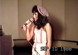 Regardez Shakira chanter et danser à l'âge de 12 ans