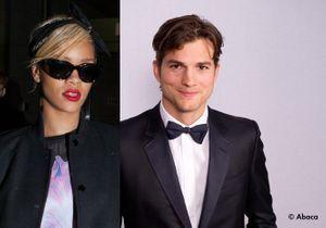 Rihanna et Ashton Kutcher, ensemble ?
